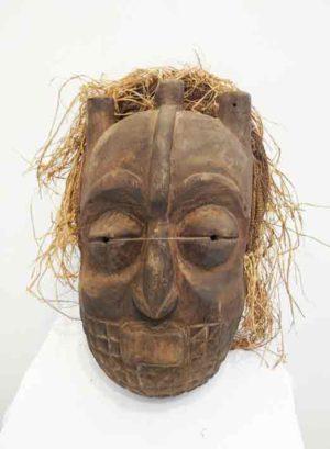 Tetela Mask Zaire Basin